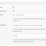 PayPal Express Form Settings
