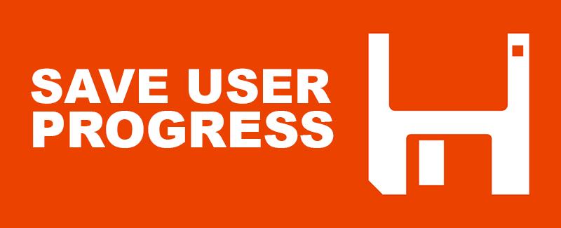 Save User Progress