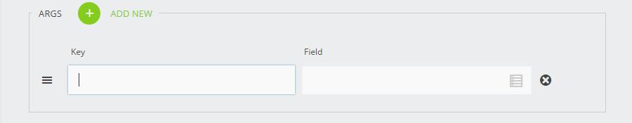 Key/Field Pairs
