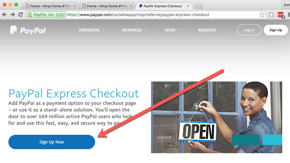 Express Checkout Site