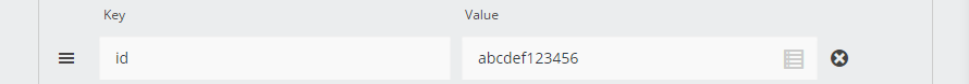 Static Value attached to a key