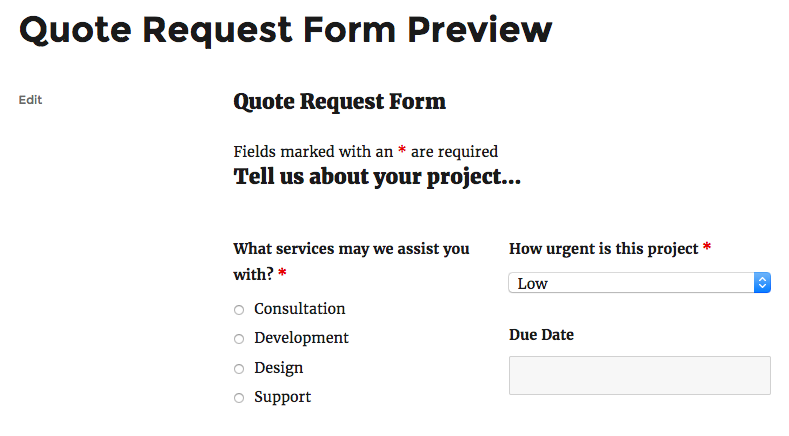 send conditional email example form