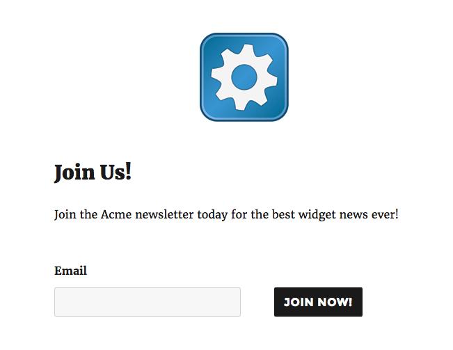 ninja form for wordpress popup maker email list subscription