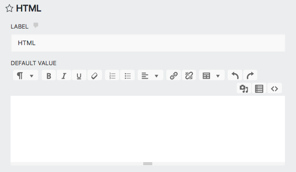 add an image to ninja forms via the HTML field settings window