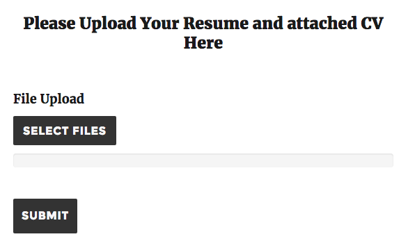how to upload your resumes