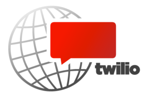 twilio & clicksend: twilio official logo
