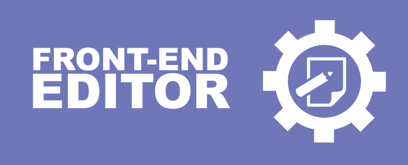 Front-End Editor